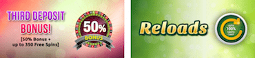 casino deposit match bonus update