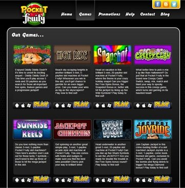 Pocket Fruity Online Slots
