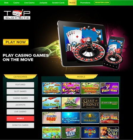 online slot games for money mobile online casino