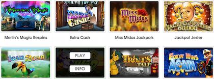 Coinfalls Phone Slots Casino Games