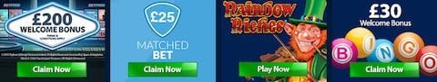 Betfred Mobile Slots Casino Promos