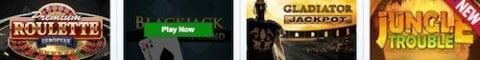 Betfred Online Slots Bonus games