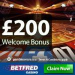 Casino Deposit Bonus | Betfred £200 Cash Match