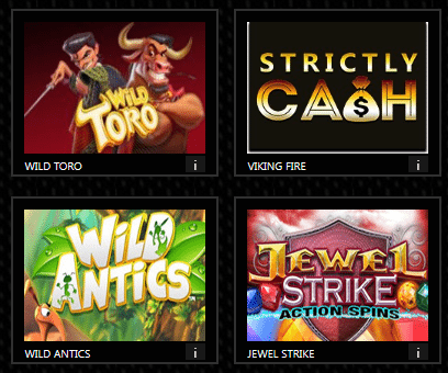play strictly cash online slots