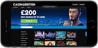 casino British deposit match welcome Bonus