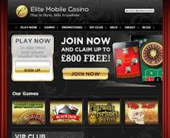 elite mobile casino vip