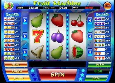 Fruit machine slot games for mobile