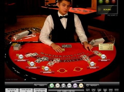 play black jack online for free