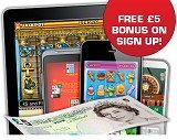 5 free roulette phone mobile sms