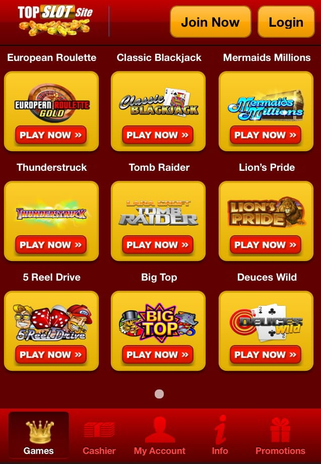 Mobile Slots – Top Casino Slot Machines Games €£Big Bonus Choice!
