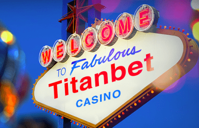 Titanbet Casino Welcome Bonus