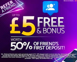 mFortune refer-a-friend bonus