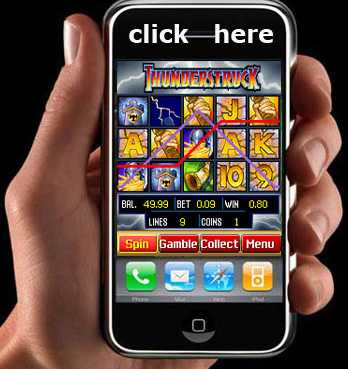 Play Mobile Casino Games on Your Cell Phone or Tablet