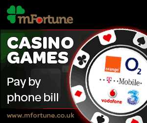 mobile casino pay by phone bill sms