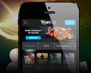 Titanbet VISA debit Casino accepted