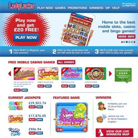 The UK's Favourite Mobile Casino