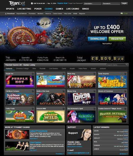Visa Debit Casino Bonus