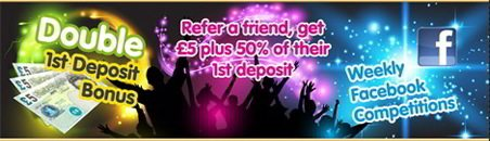 Refer a Friend & Get 50% Bonus of Your Friend's Deposit
