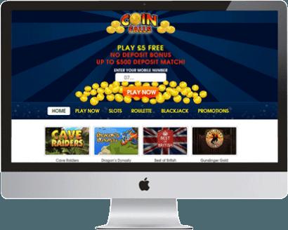 Coinfalls Casino Free Bonus