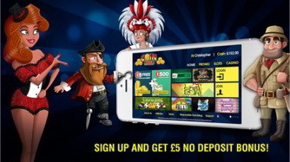 regulated free £5 welcome bonus no deposit casino