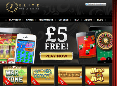 Mobile Casino Site UK