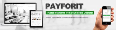Payforit for mobilcasino