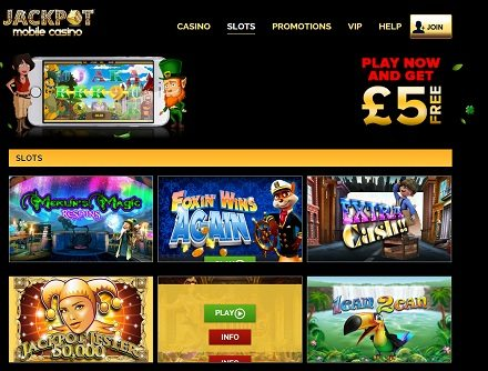 Jackpot Casino Gamble Using Payforit