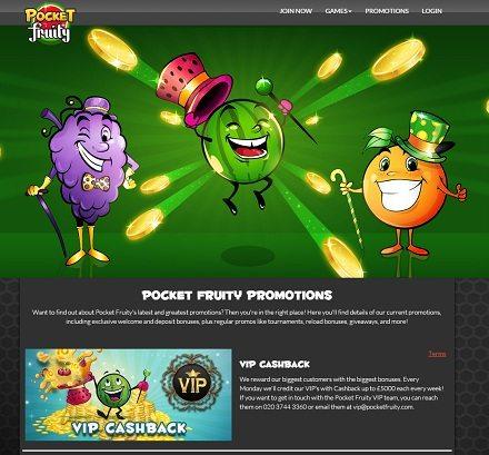 Pocket Fruity Games