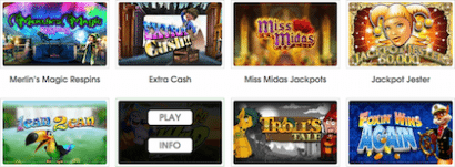 coinfalls casino free play slots demo mode