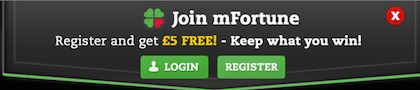 mFortune Keep What You Win Bonus no Deposit