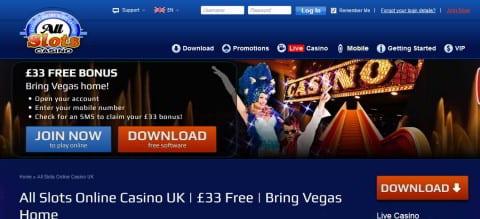 all slots casino
