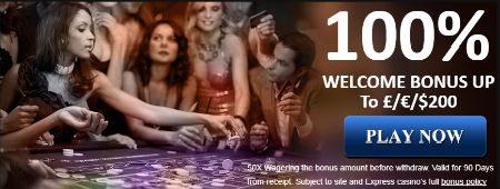Parimate Expressi kasiino teenindusaegade väljamaksed