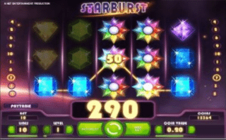 Comp Spins Starburst Slots
