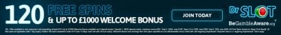 online free spins deposit match welcome bonus