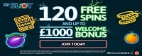 Gratis Dr Slot Spins online | Up Untuk £ 1.000 Pertandingan Cash | Pot penebang