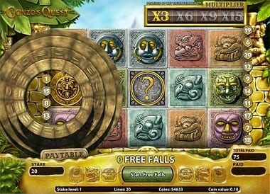 Gonzo's Quest Cash Slots Online Game