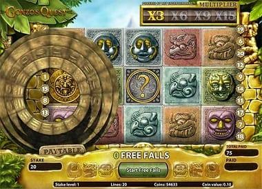 Gonzo's Quest Cash Slots Online Game