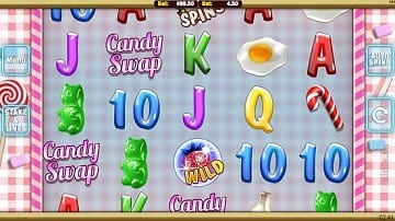 slot fruity candy swap