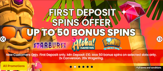 top mobile slots games UK