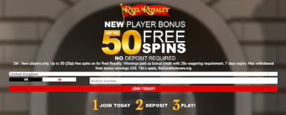 free spins signup bonus casino
