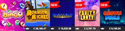 instant win slots games