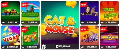 mFortune jackpot slots online