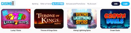 casino 2020 bonus slots games