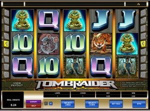 TombRaider Slots UK