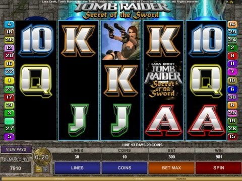 Lara Croft for Big Wins, Free Spins & Bonus Rounds