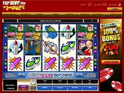Agent Jane Blonde for Mobile Casino